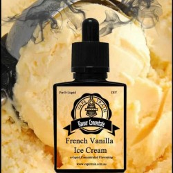 French Vanilla Ice Cream - Vape Train